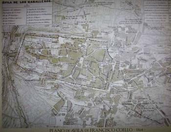 アビラの1800年代の地図.JPG